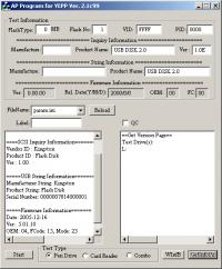 2ktest_96 Phison 2143-2134 (AP Programm for YEPP ver. 2.1c99)
