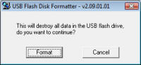 USB Flash Disk Formmater 2.09.01.01